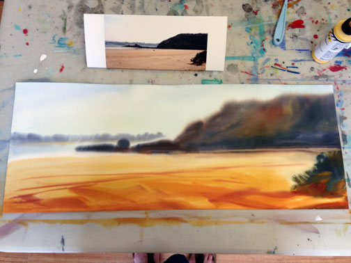GoingCoastal_Underpainting